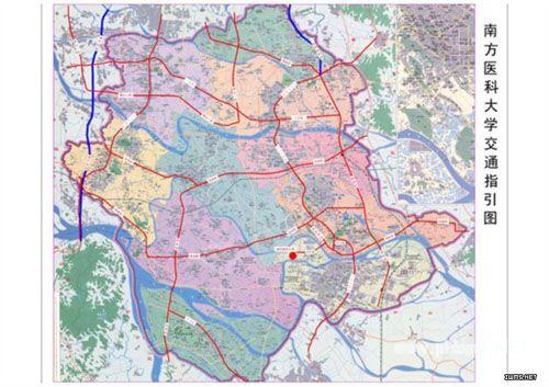 鹤山城轨规划图